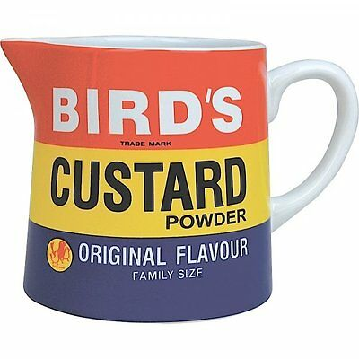 Retro BIRD'S CUSTARD JUG 750ml Milk CUSTARD Ceramic WATER Jug