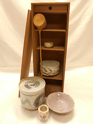 Tea Set Japanese Tea Ceremony Traditional  Vintage #64