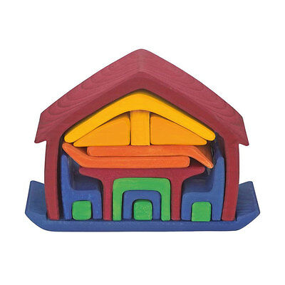Glückskäfer 523266 Furniture store Playhouse with accessoires new wood! #