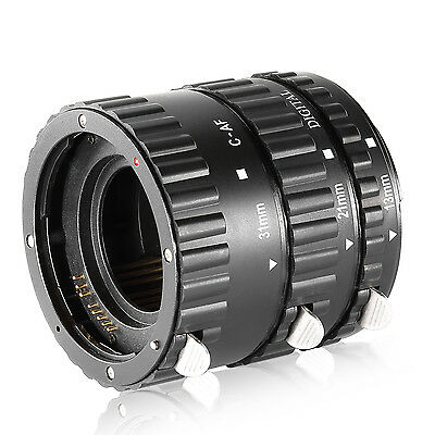 Neewer Extension Tube Set for Canon EOS DSLR Lens, Extreme Close-Ups UD#15