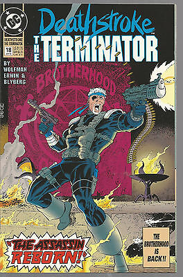 Deathstroke The Terminator # 18 * Near Mint