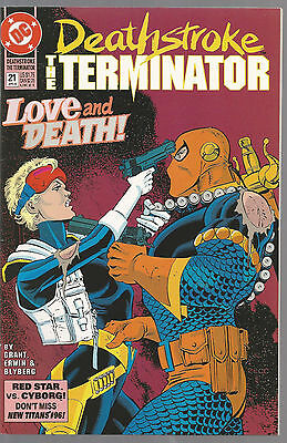 Deathstroke The Terminator # 21 *