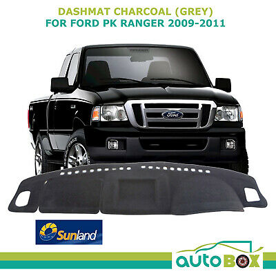 CHARCOAL GREY Sunland DASHMAT for Ford PK Ranger 2009-2011 DASH MAT Protection