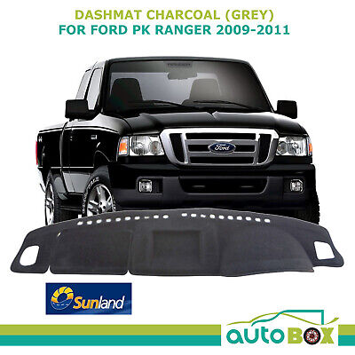 DashMat for Ford PK Ranger 2009-2011  Charcoal  Sunland Dash Mat Protection