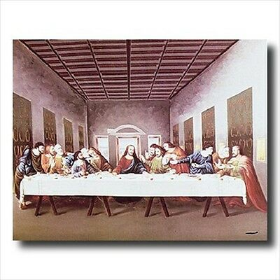 Last Supper Jesus Christ 4 Religious Wall Picture Art Print