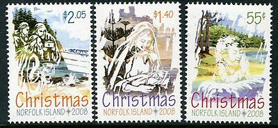 2008 Norfolk Island Christmas - MUH Complete Set
