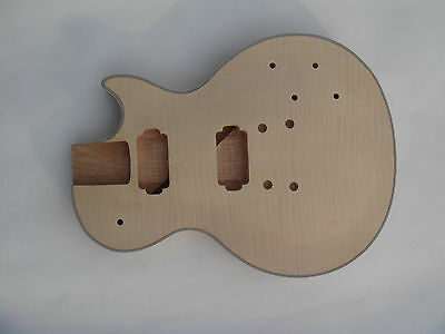 Perfect handcraft top grade unfinished electric guitar body  10225