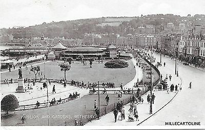 SCOTLAND - Rothesay - Pavilion and Gardens 1946