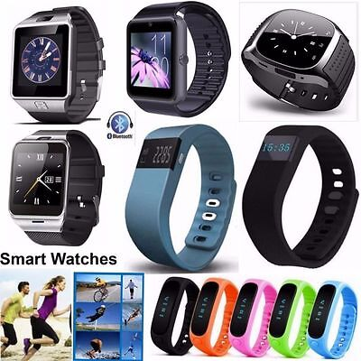Bluetooth Smart Watch Smartband Polso Orologio Bracciale For Android IOS iPhone