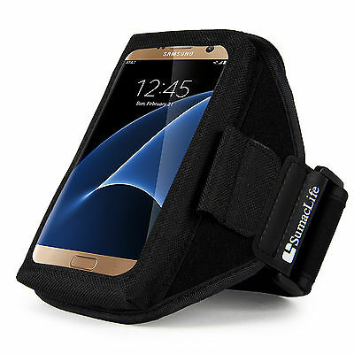 Sumaclife Neoprene Gym Sport Armband Case for Samsung Galaxy S8 / iPhone 8 Plus