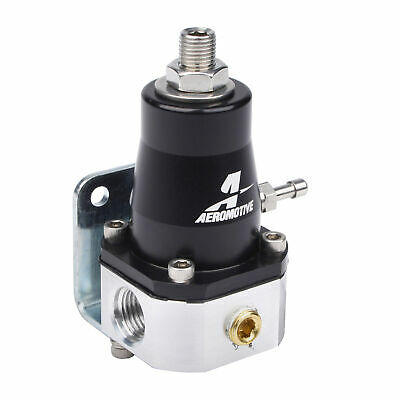 Aeromotive EFI Bypass Fuel Pressure Regulator FPR, 30-70 Psi, -6 JIC 13129
