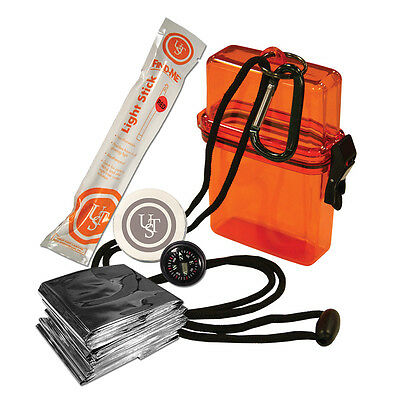 UST Watertight Ultimate Pocket Survival Emergency Kit 1.0 Camping Outdoor