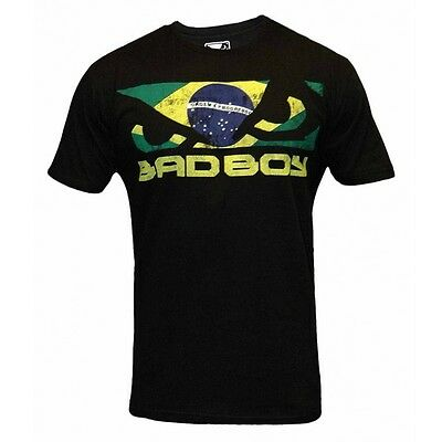 Bad Boy- T-Shirt. Walk-In Brazil. S-M. Baumwolle. Machida. Shogun. UFC. Style.