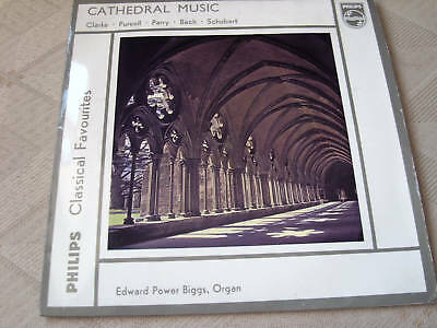 ORGAN MUSIC  edward power biggs CATHEDRAL MUSIC  classical favourites