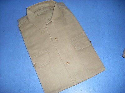Fev16/ Chemise Vintage Ancienne Homme Manches Longues Taille 40