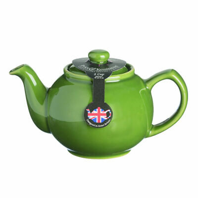 Price And Kensington Brights Teapot Olive Green 2 Cup Tea Coffee Serveware New