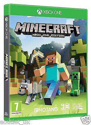 Minecraft Xbox One game BRAND NEW SEALED UK