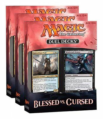 Magic Blessed vs Cursed Duel Decks UK