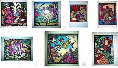 Collection of  (7) Thea Proctor Prints