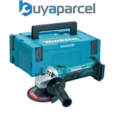 Makita DGA452Z 18v 11.4cm 115mm Winkelschleifer Lithium Ion Blank Einheit +