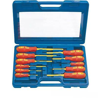 Draper Expert Electricians Screwdriver Set VDE Fully Insulated Quality New 11 Pc