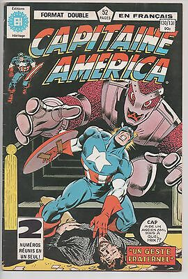 CAPTAIN AMERICA #130/131 french comic français EDITIONS HERITAGE