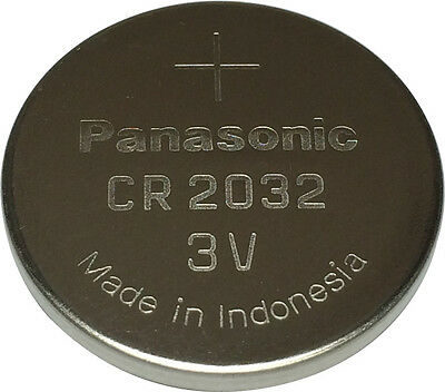 Panasonic CR2032 Lithium Coin Cell 3V Battery Car Key Fobs Toys Remote Batteries