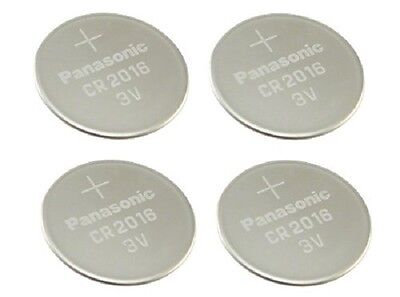 Panasonic CR2016 Lithium Coin Cell 3V Battery Car Key Fobs Toys Remote Batteries