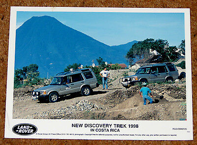 LAND ROVER DISCOVERY TREK Original 1998 Press Photo - Round the World Trip