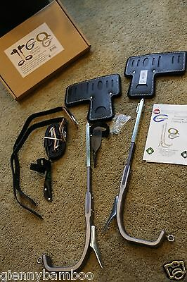 NEW Climb Right Aluminum quick change CRB Arborist Lineman long Tree Gaffs