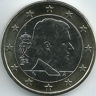 Belgium Currency coin (2014 - 2016), uncirculated/brilliant uncirculated