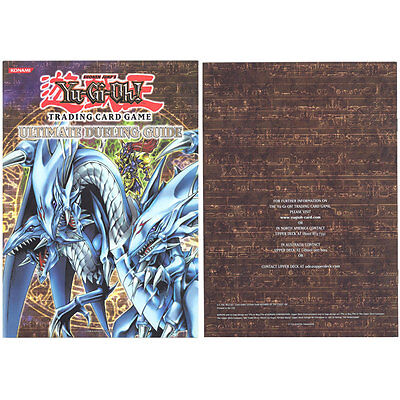 Yu-Gi-Oh Cards - ULTIMATE DUELING GUIDE (Official Konami Guide Book) - New