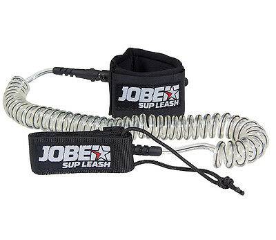 Jobe SUP 10 ft Coiled Ankle Paddle Board Leash