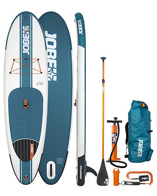 Sale! 2016 Jobe Aero 10.6 Inflatable Paddle Board SUP w/Paddle/Pump/Pack/Leash