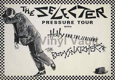The Selecter Pressure Tour 1980  A3 Size Repro Poster