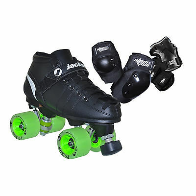 Vip Fresh Meat Roller Derby Skate Package With Pads