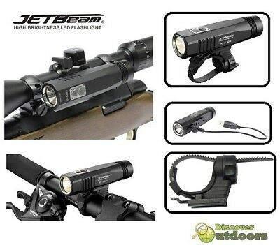 New JETBeam BR10-GT 900 Lumen Scope Mount & Bike Light - HUNTING CYCLING