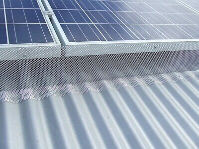 Gutter Guard Aluminium Leaf Guard Mesh Freight Free For Orders Over 20 Metre