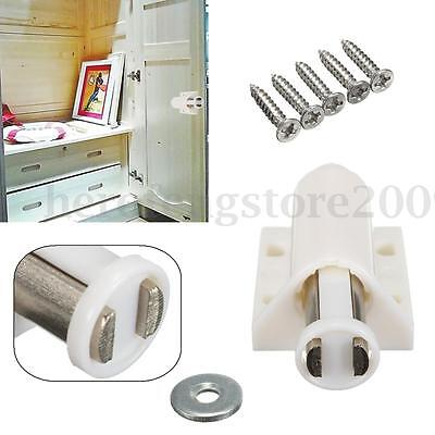 Magnetic Pressure Touch Release Push To Open Catch Cabinet Kitchen Door Cupboard