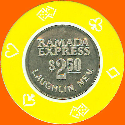 Ramada Express $2.50 1988 Casino Chip Laughlin Nv - Free Shipping