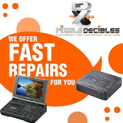 REPAIR Service Playback Tape System for Sony Digital8 GV-D200 D800 Video Player