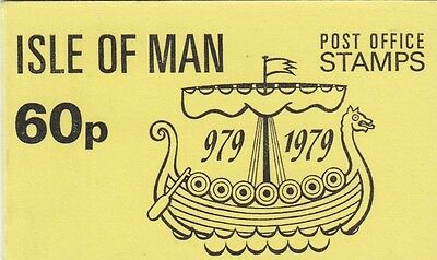 (82750) GB Isle of Man Booklet 60p SB10 1979