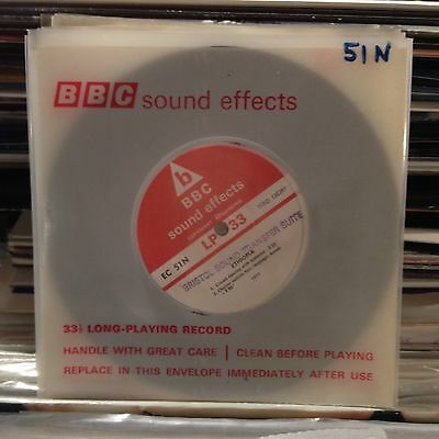 "BBC Sound Effects 7""- EC 51N ""Ethiopia"" (Dancing Crowd, Chatter, etc.) !!!!!!!"