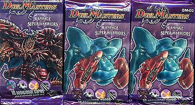 Duel Masters 3   Boosters Rampage Super Warriors Anglais