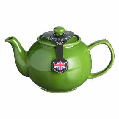 Price And Kensington Brights Teapot Olive Green 6 Cup Tea Coffee Serveware New