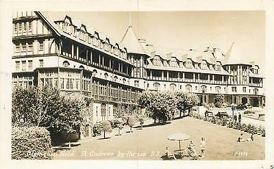 RPPC  ST. ANDREWS by the SEA, New Brunswick  Canada  ALGONQUIN HOTEL  1950