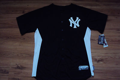 ee56e61e8 NEW YORK YANKEES jersey  135 Majestic Authentic On-Field BP Cool ...