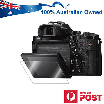 Pro Tempered Glass Screen Protector for Sony Alpha A7 A7R A7S Mirrorless Camera