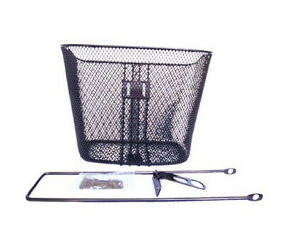 Wire Steel Mesh Front Bike Basket Retro Urban City Cruiser Shopper Bicycle