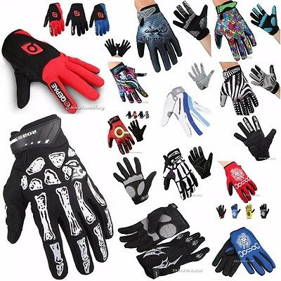 MTB Winter Motorcycle Bike Cycling Riding Racing Bicycle Long Full Finger Gloves
